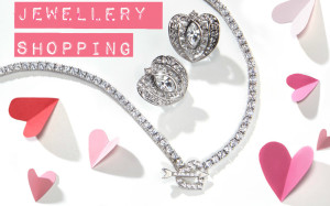Valentine Jewelry Shopping