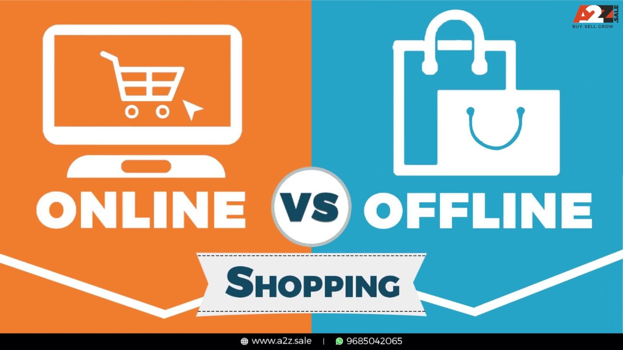 Why Online shopping is better than offline shopping? - Be a Shopaholic